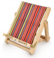 Stojak na książkę, czytnik i tablet Deckchair Bookchair Medium Multicolor